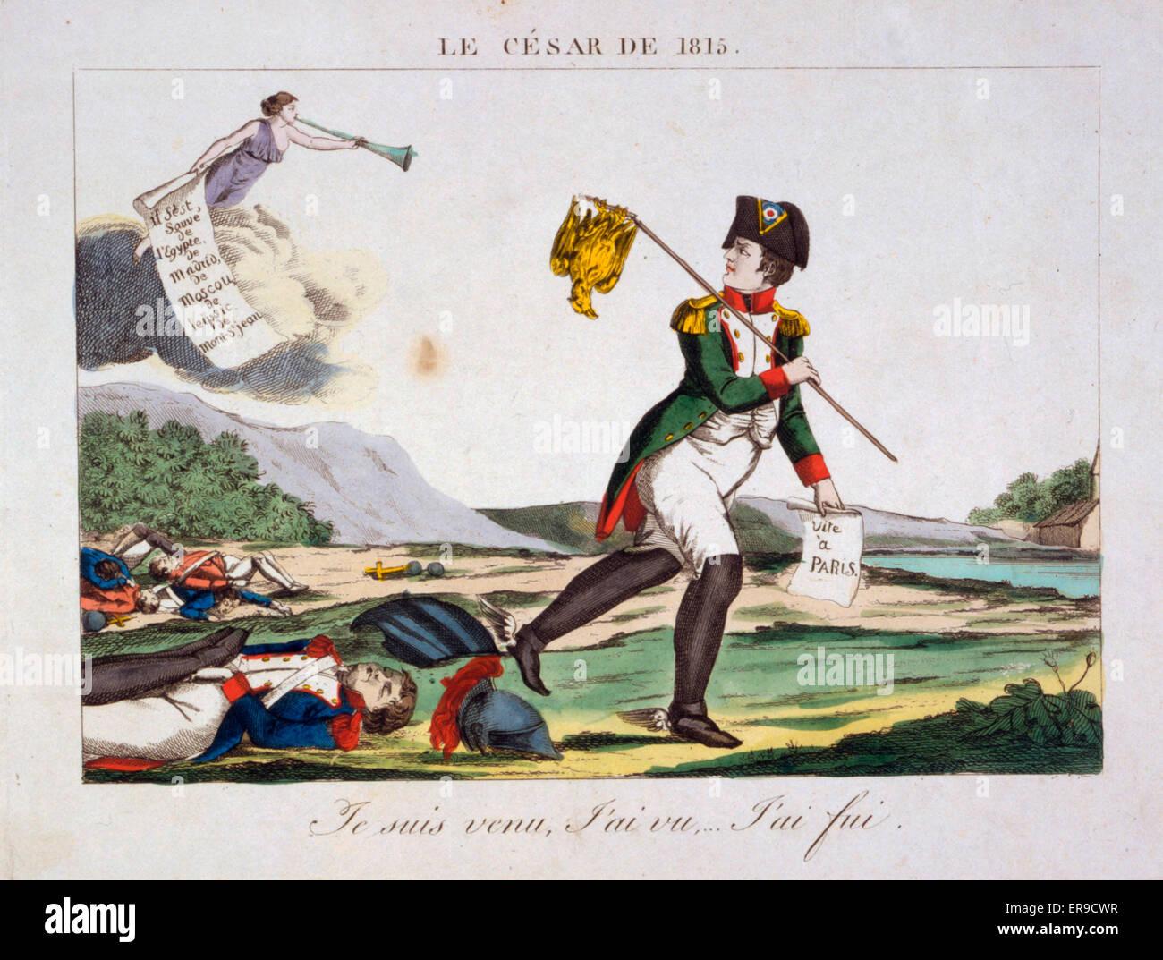 huge selection of cbd82 b85ef Le Cesar de 1815. Cartoni animati di Napoleone I, con scarpe ...