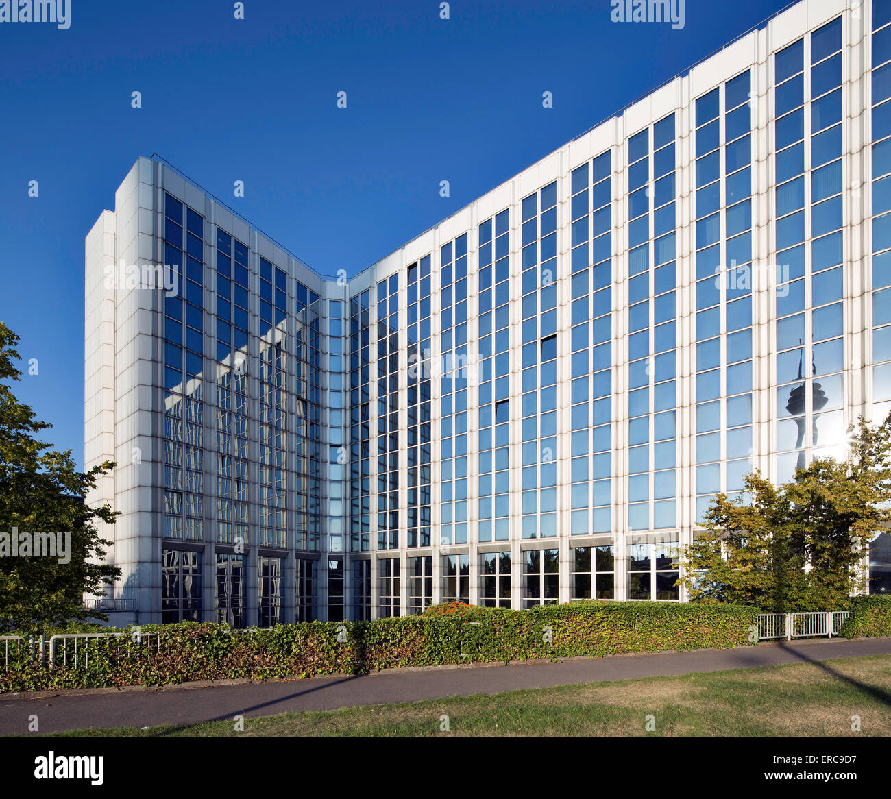Ministero degli Affari Interni e problemi urbani NRW, Düsseldorf, Renania, Renania settentrionale-Vestfalia, Immagini Stock