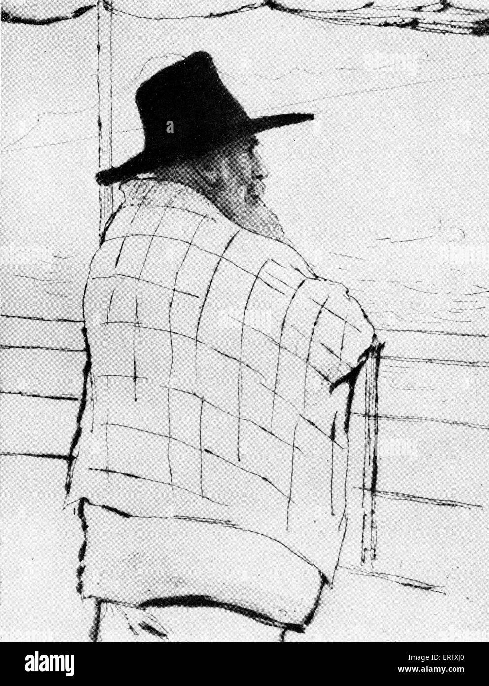 Ernst Haeckel. Il tedesco biologo naturalista, filosofo, medico, professore e artista, 16 Febbraio 1834 - 9 agosto Immagini Stock