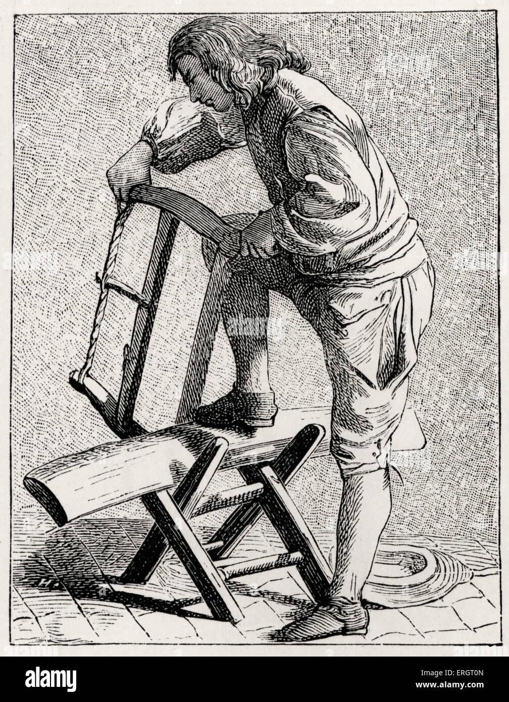 La vita quotidiana nella storia francese  un coltello di legno nel XVIII  secolo a Parigi d8762e813a3c