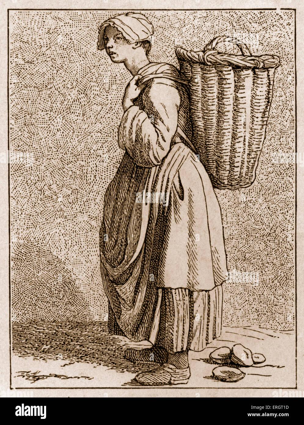 La vita quotidiana nella storia francese  un oyster-venditore nel XVIII  secolo a Parigi 42041c9c3fc6