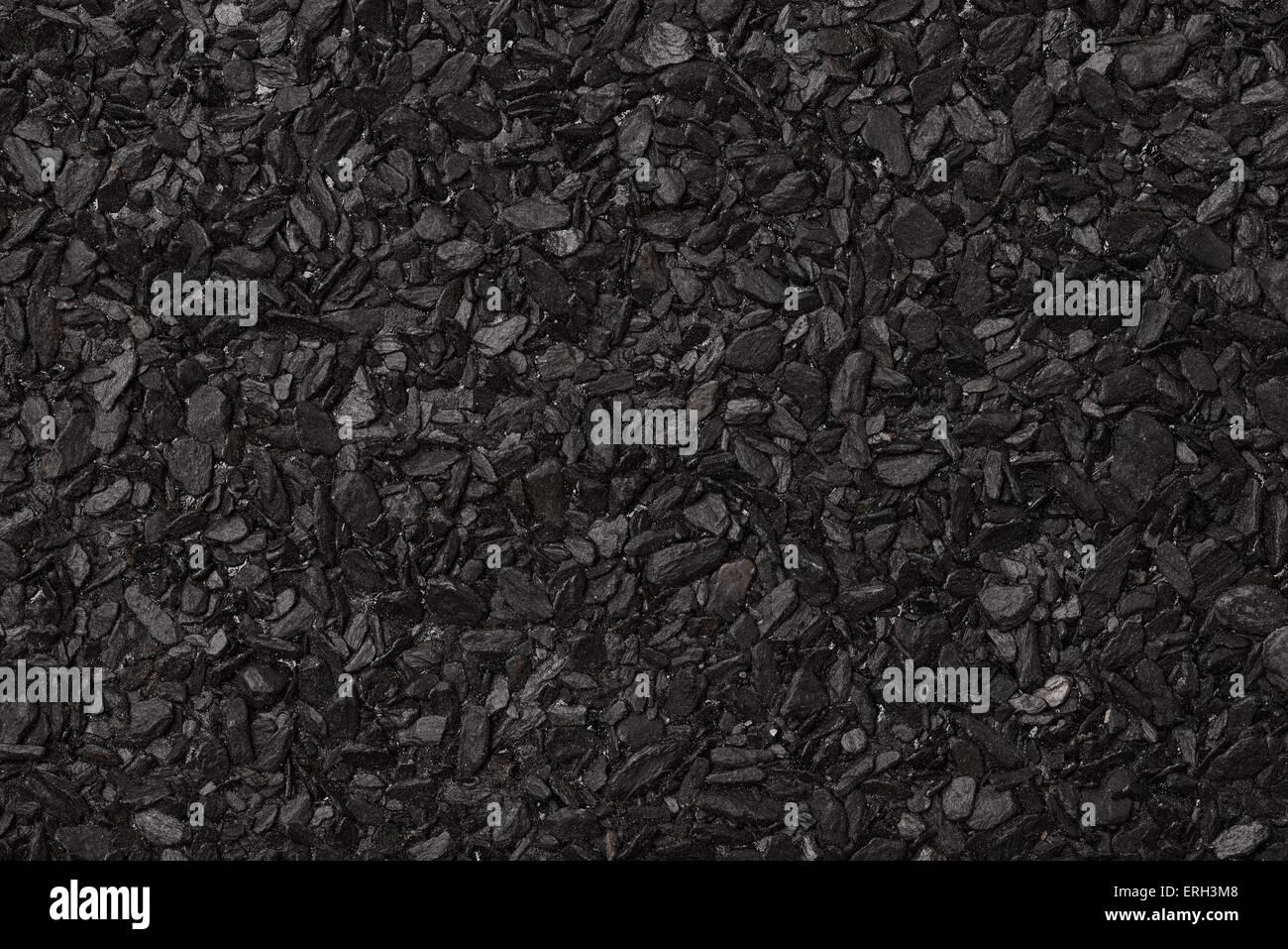 Close up di asfalto rotolo del materiale di copertura Immagini Stock