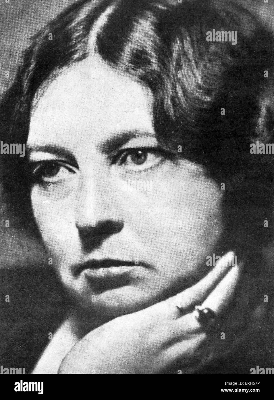 Sigrid Undset ritratto. Il romanziere norvegese, insignito