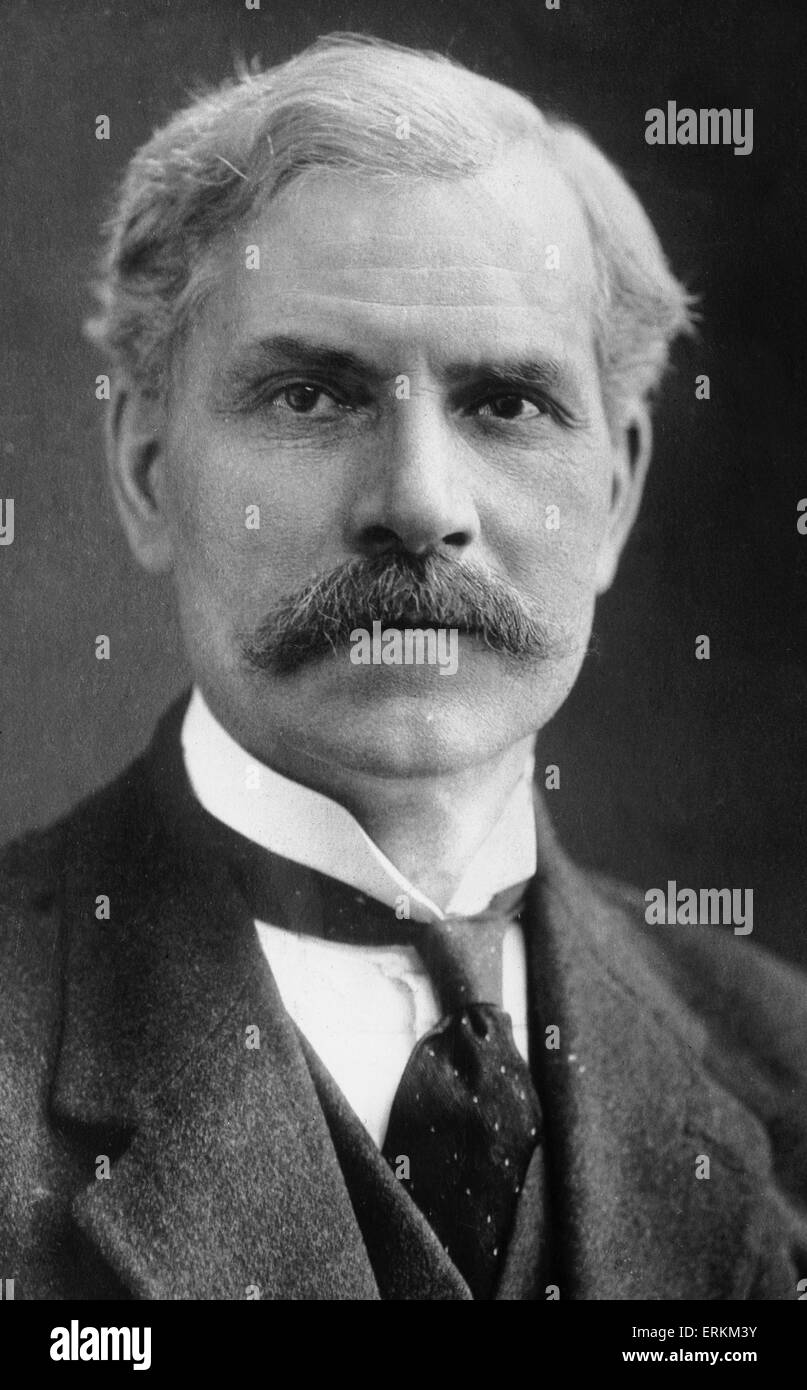 L'onorevole James Ramsay MacDonald, JP, MP Circa 1924 Immagini Stock