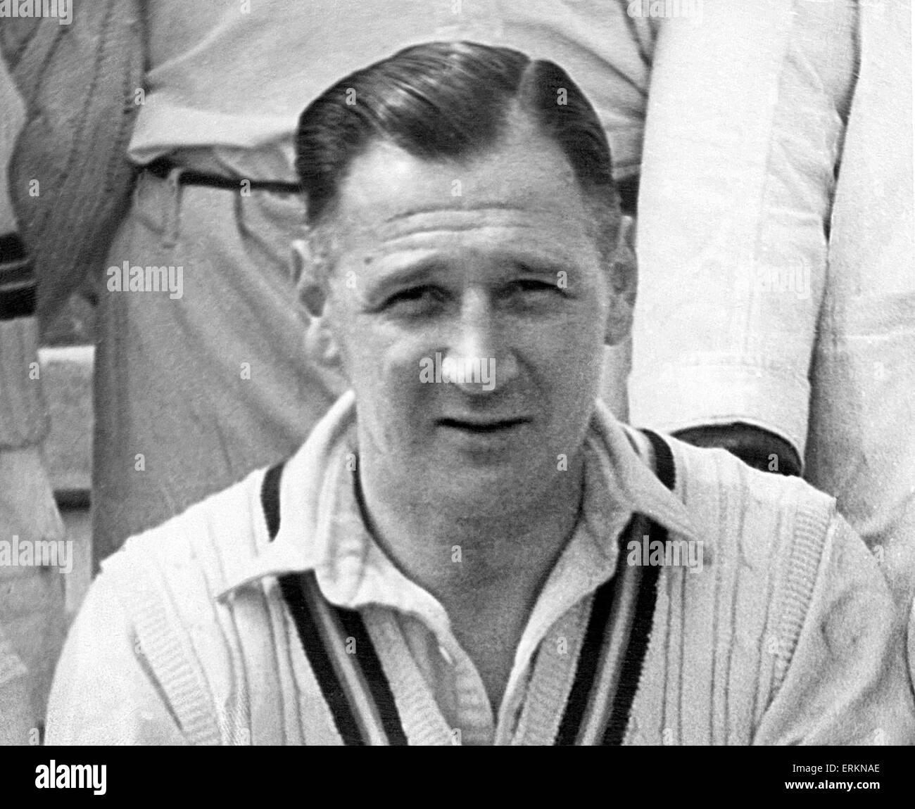 William Eric Houghton (29 giugno 1910 - 1 Maggio 1996) era un calciatore inglese e manager. Eric Houghton è Immagini Stock