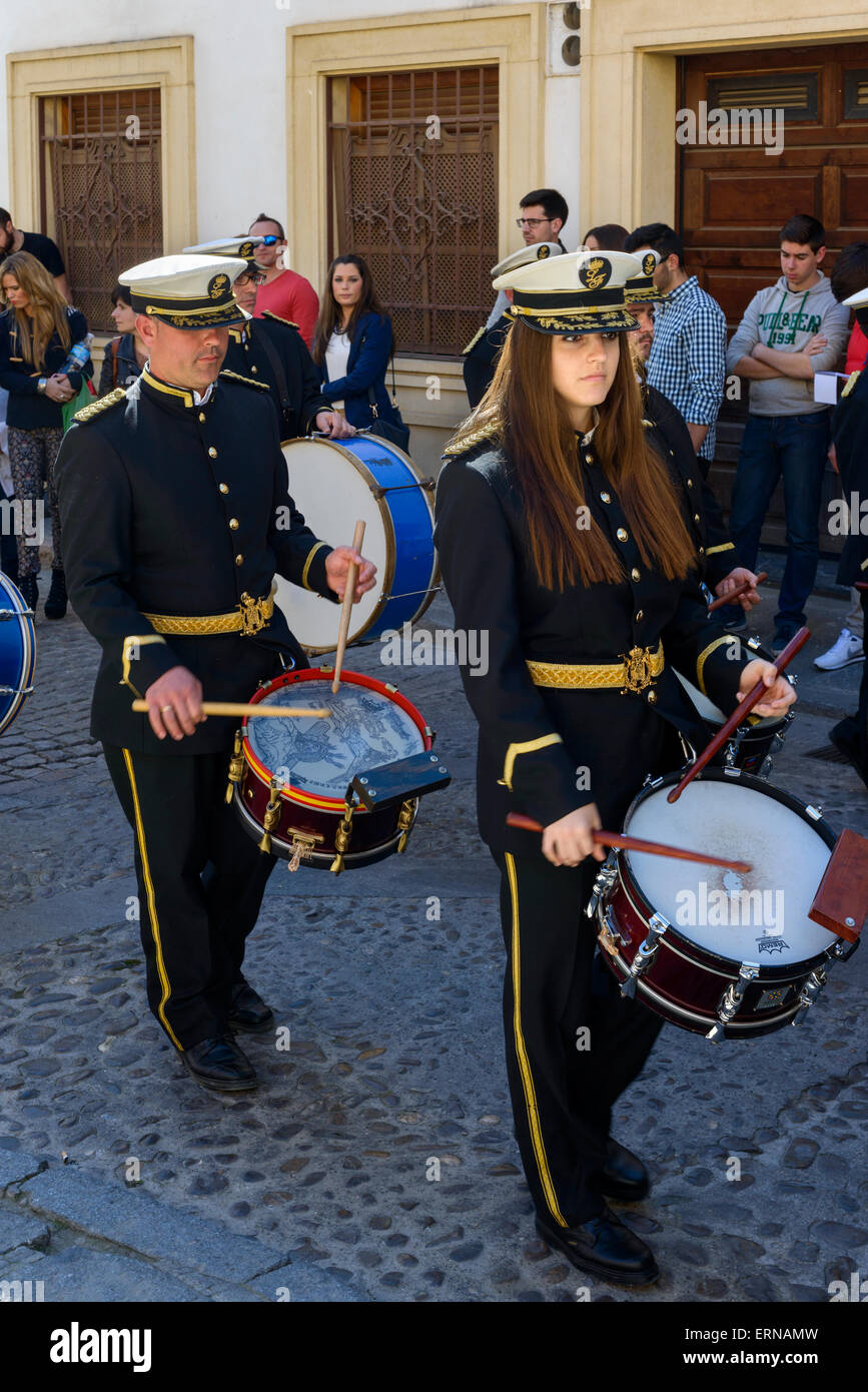 Marching Band Immagini Stock