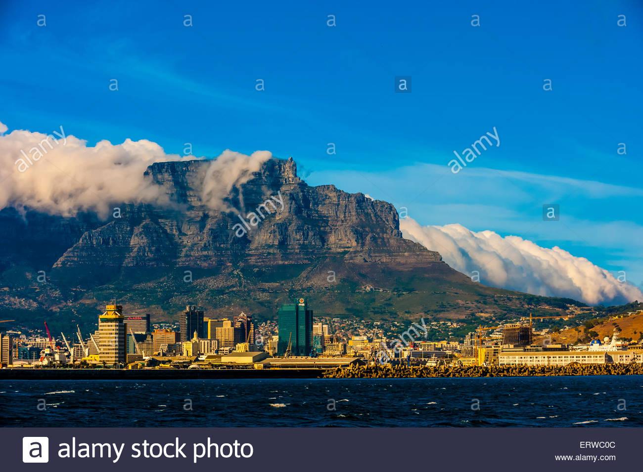 Il quartiere centrale degli affari, Cape Town, Sud Africa. Immagini Stock