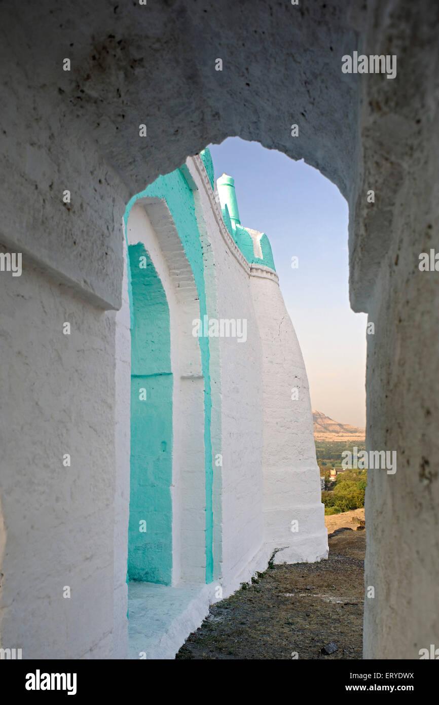 Patrimonio architettura islamica ; Eidgah ; taluka Junnar ; district Pune ; Maharashtra ; India Immagini Stock