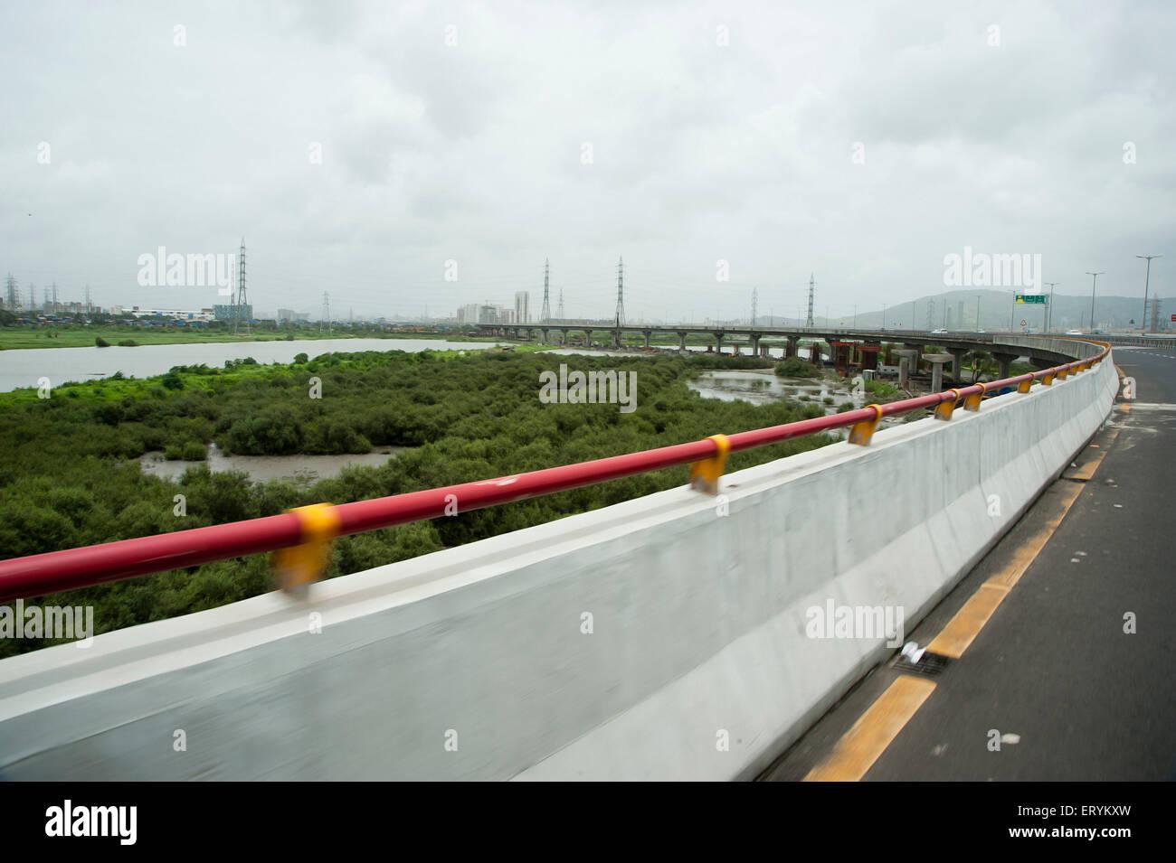 Autostrada orientale mumbai Maharashtra India Asia Immagini Stock
