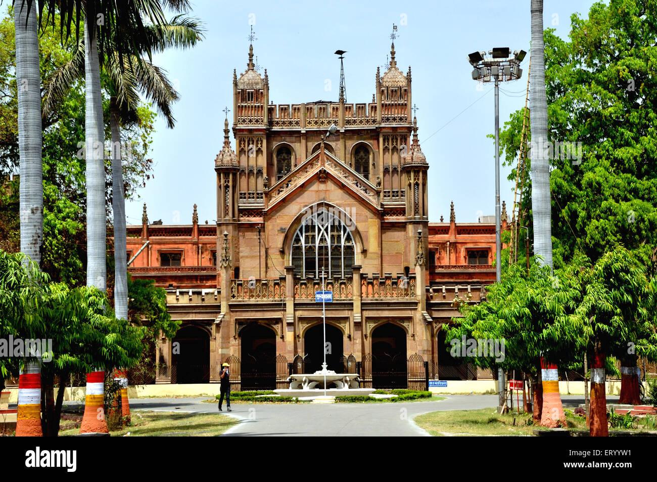 Università Sanscrita a Varanasi ; Uttar Pradesh ; India Immagini Stock