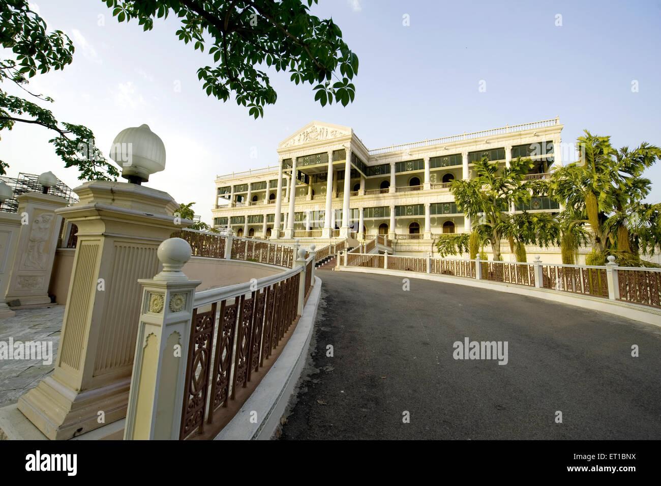 Bungalow Situati a ramoji film city ; Hyderabad ; Andhra Pradesh ; India Immagini Stock