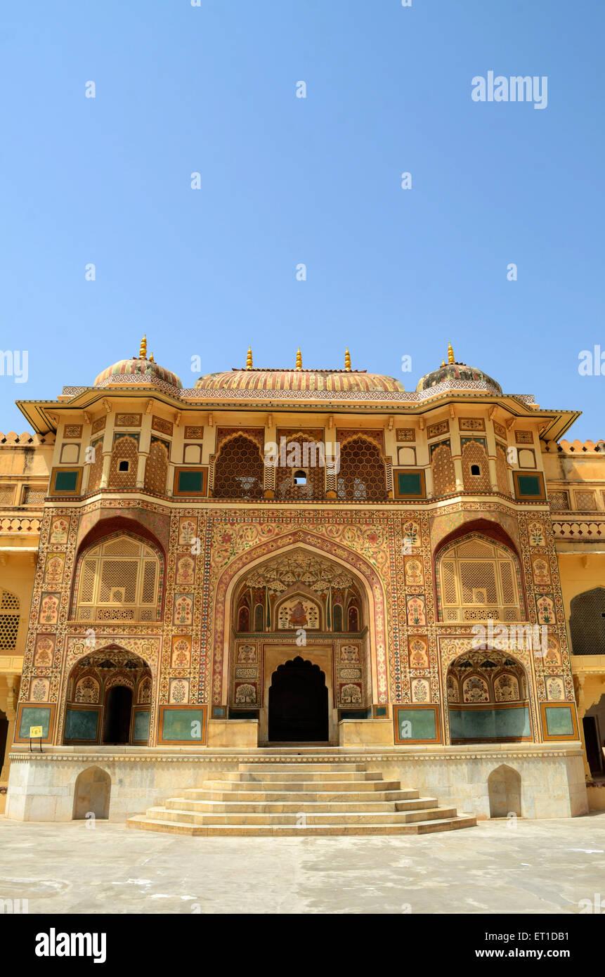 Amer Palace Jaipur India Rajasthan Immagini Stock