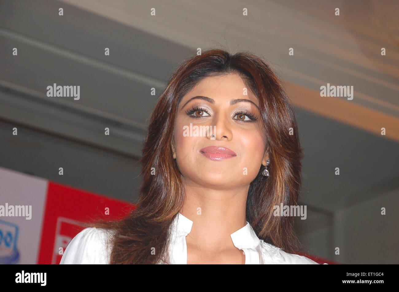 L'attrice Shilpa Shetty ; India n. MR Foto Stock