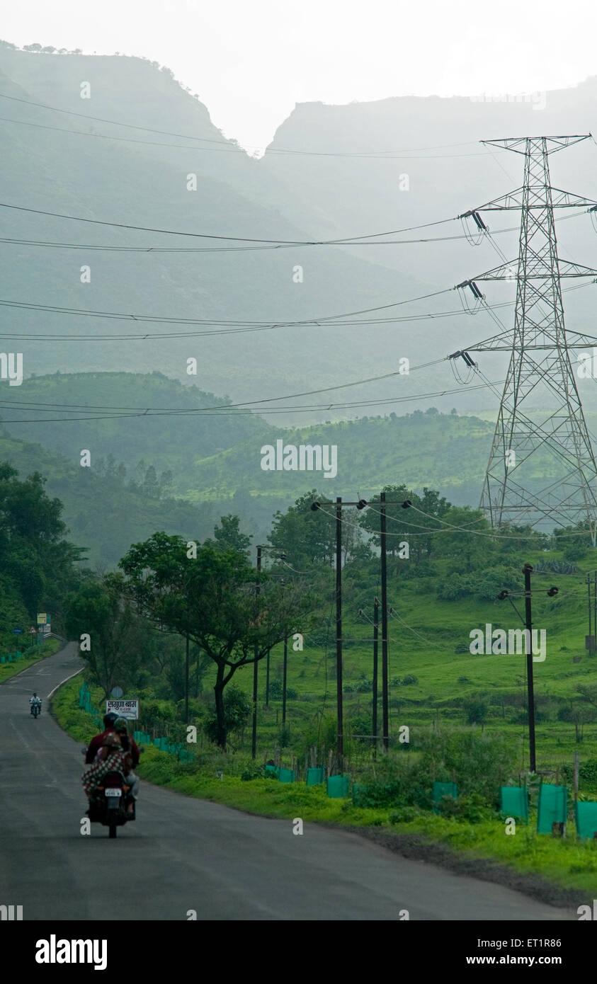 Strada Maharashtra India Asia Immagini Stock