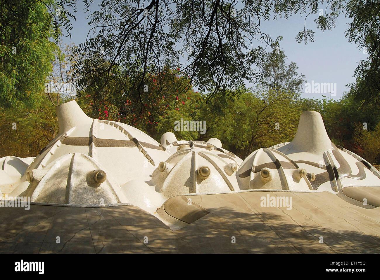Esterno di Husain doshi gufa ni museum in Ahmedabad Gujarat India Asia Immagini Stock