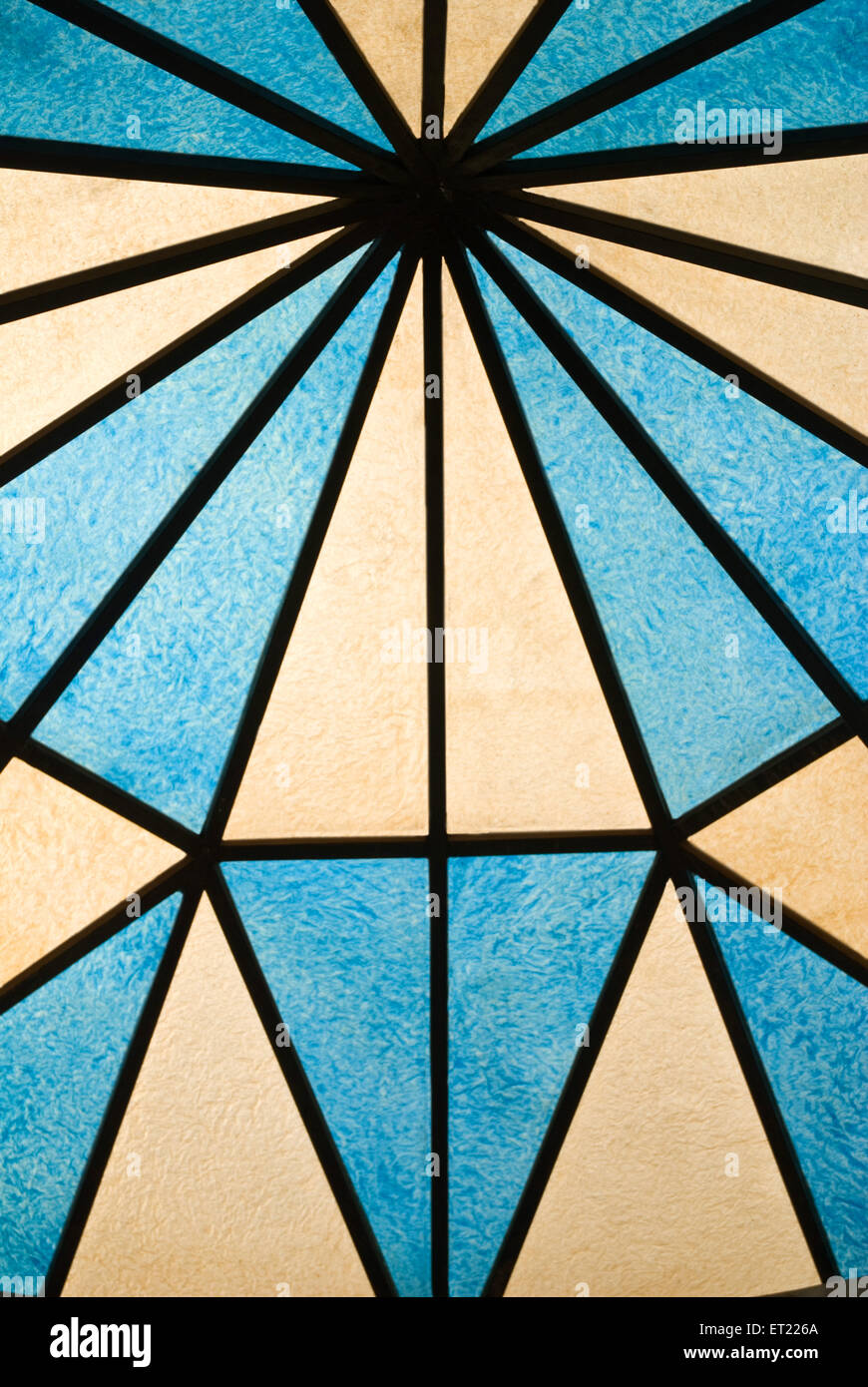 ; Acrilico raggio 2008 blu Immagini Stock