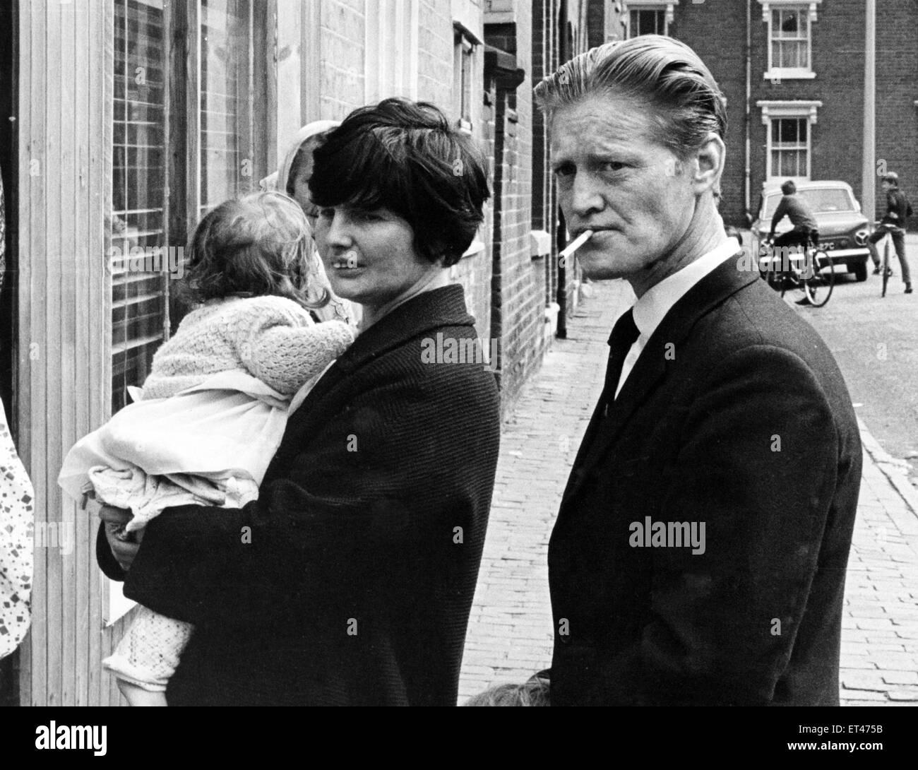 I genitori di Diane Tift, vittima dell'A34 killer. Il Cannock Chase omicidi (noto anche come la A34 omicidi) Immagini Stock