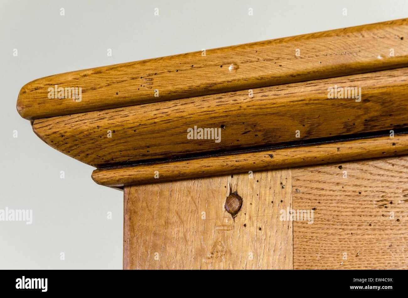 Mobili in legno di quercia Cabinet Immagini Stock