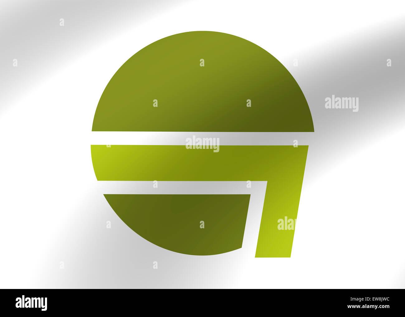 Germania aria icona logo flag simbolo segno emblema Immagini Stock
