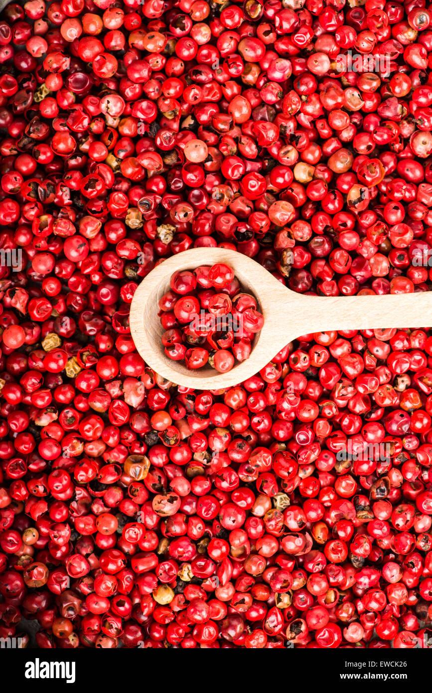 Nizza vicino la selezione di pepe rosso Immagini Stock