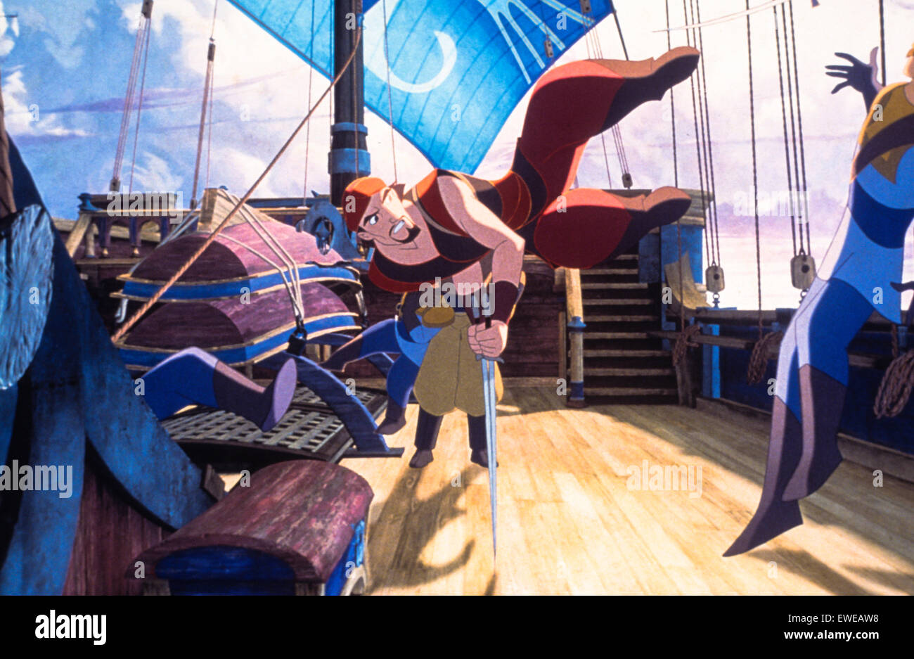 Sinbad la leggenda dei sette mari Immagini Stock