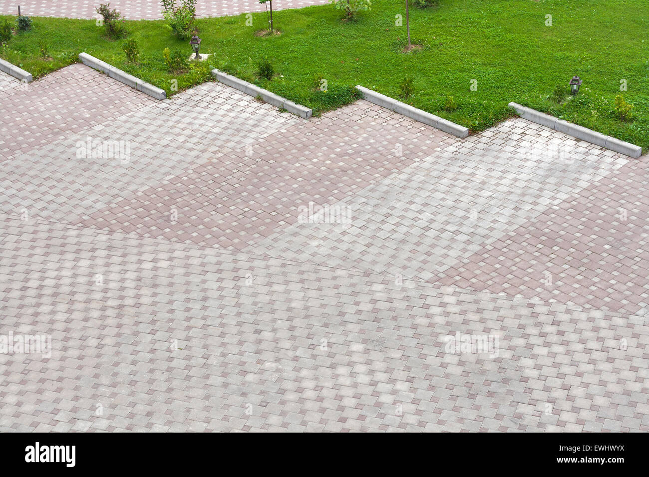 Pavimenti da parcheggio in erba aree verdi soluzione parcheggio