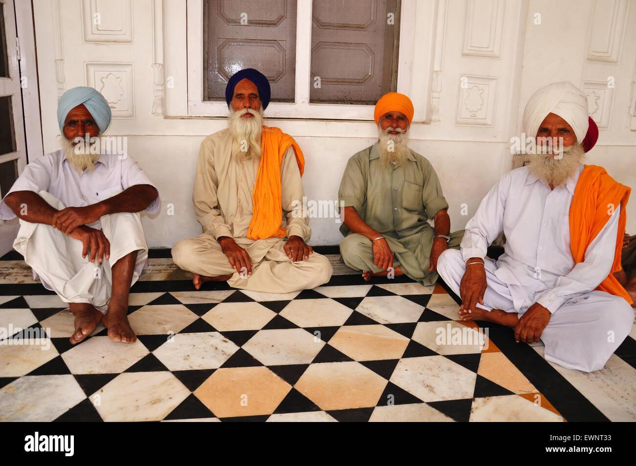 Uomini sikh Immagini Stock