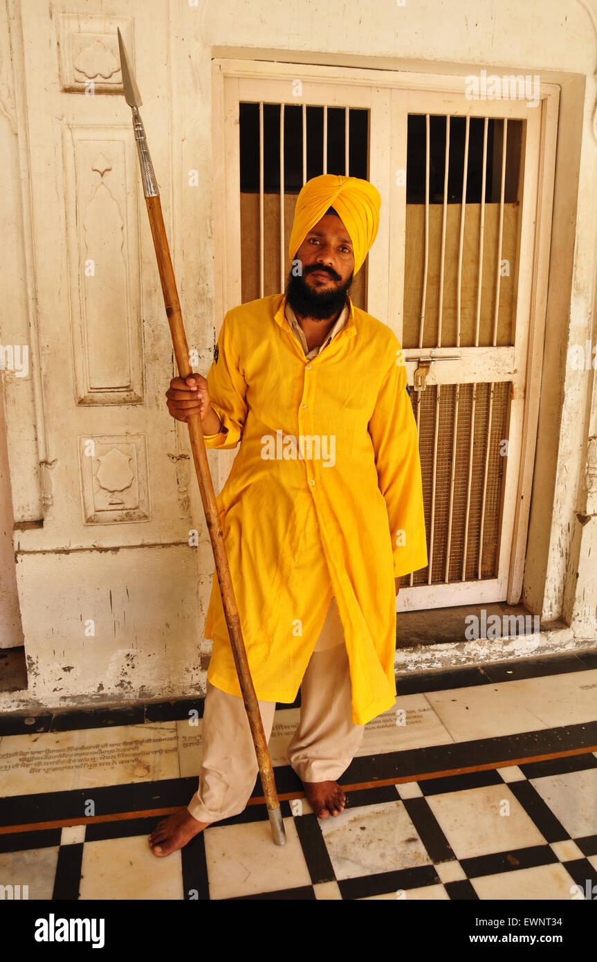 Uomo sikh Immagini Stock