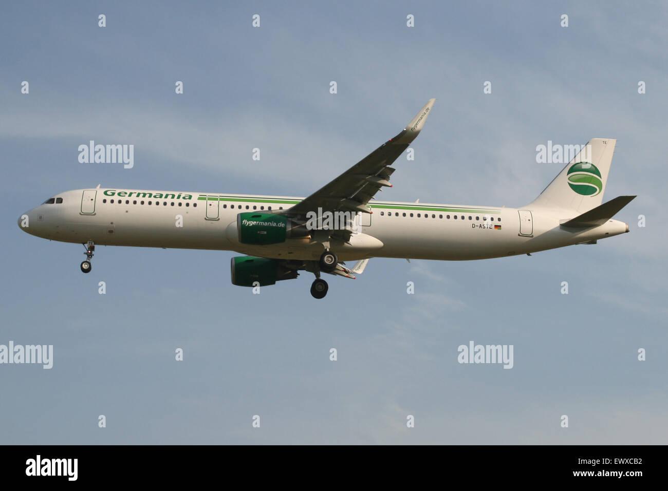 GERMANIA A321 Immagini Stock