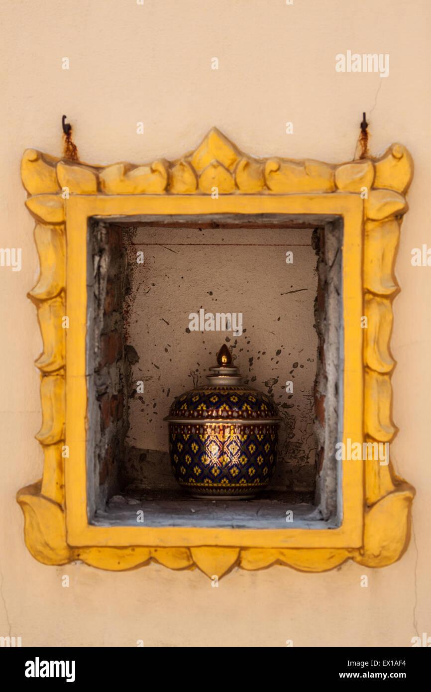urna mortuaria Immagini Stock