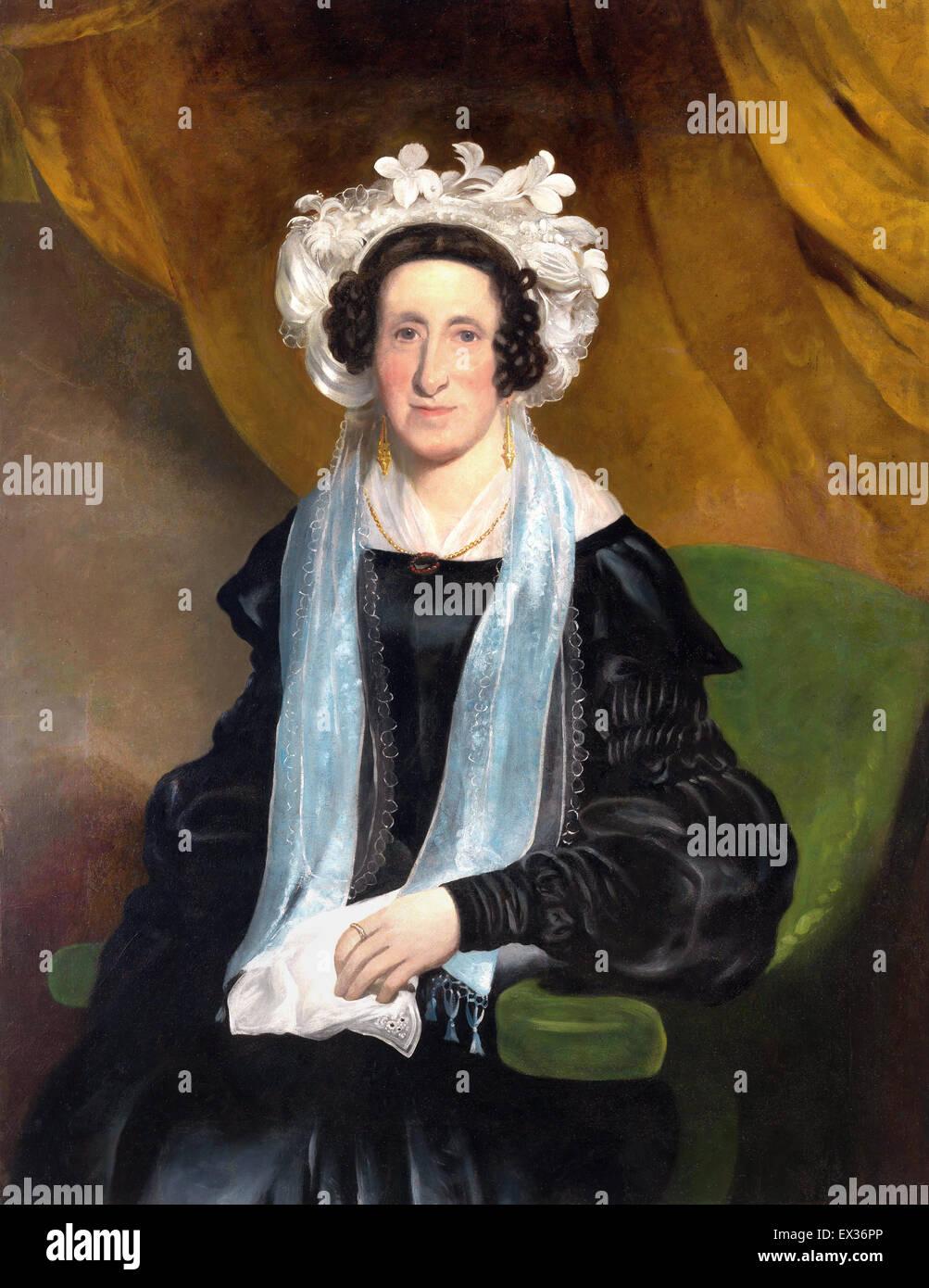 Henry Mundy, Elizabeth, onorevole William Field. Circa 1842. Olio su tela. Galleria Nazionale dell'Australia, Immagini Stock