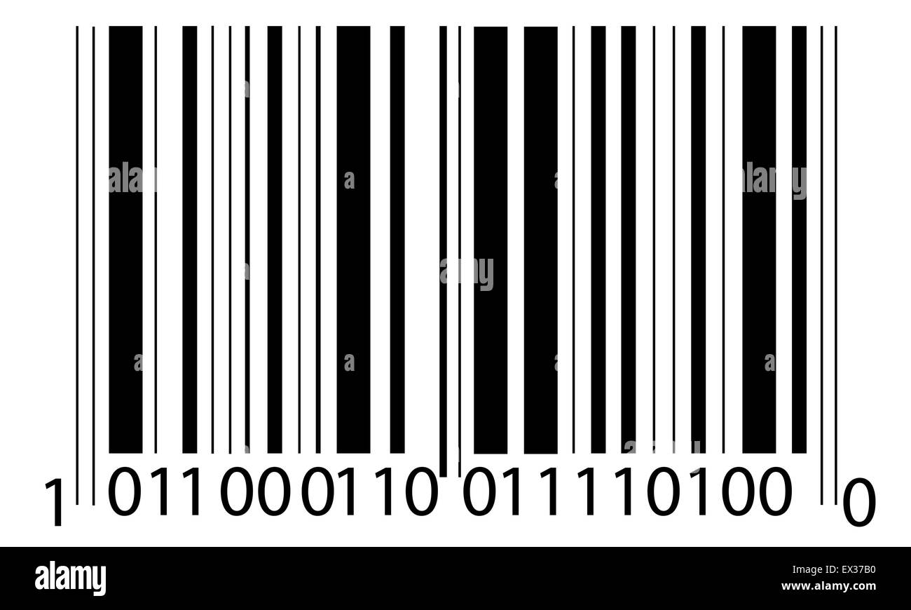 codice a barre Immagini Stock