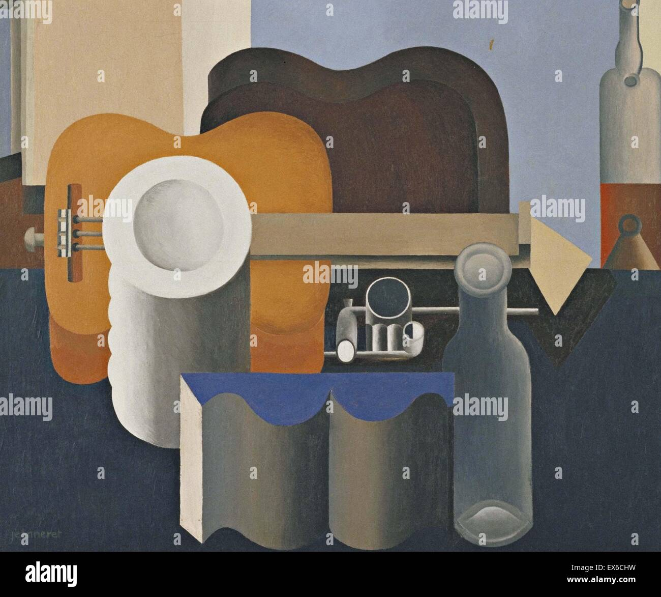 Le Corbusier Still Life Immagini Stock