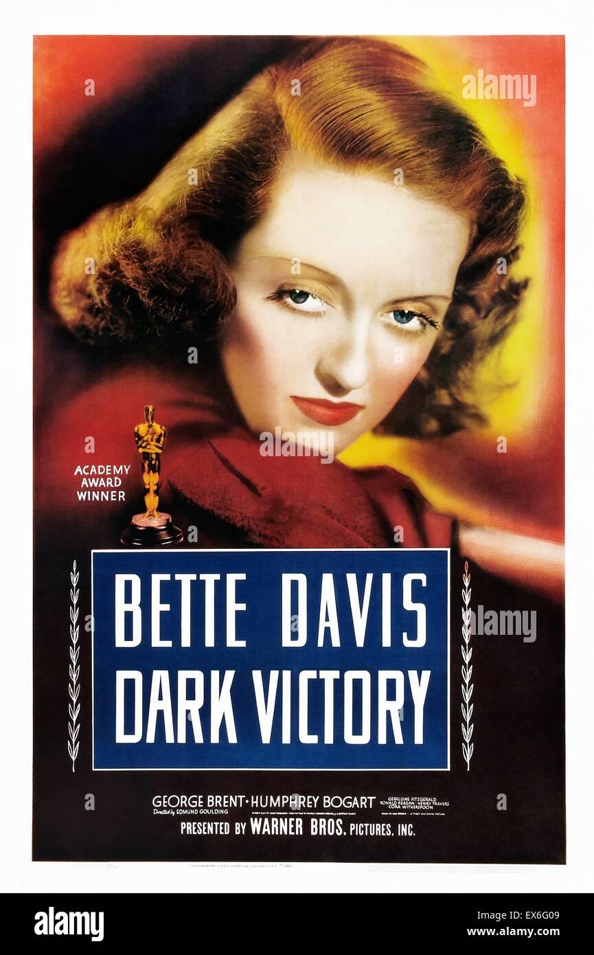 Dark Vittoria è un 1939 American Drama film diretto da Edmund Goulding, interpretato da Bette Davis e con George Foto Stock