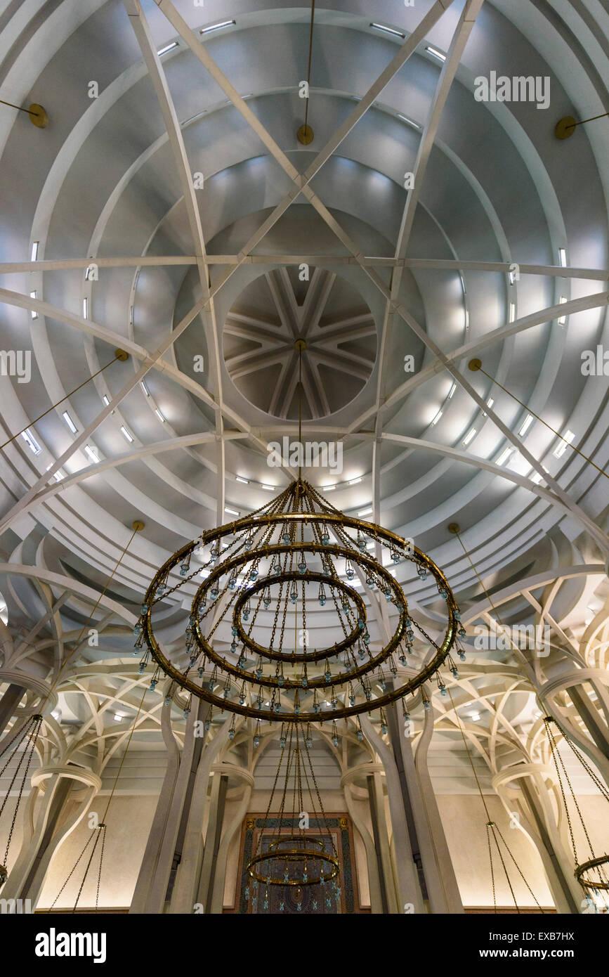 Roma. L'Italia. La moschea di Roma, italiano Centro Culturale Islamico, dall'architetto Paolo Portoghesi, Immagini Stock