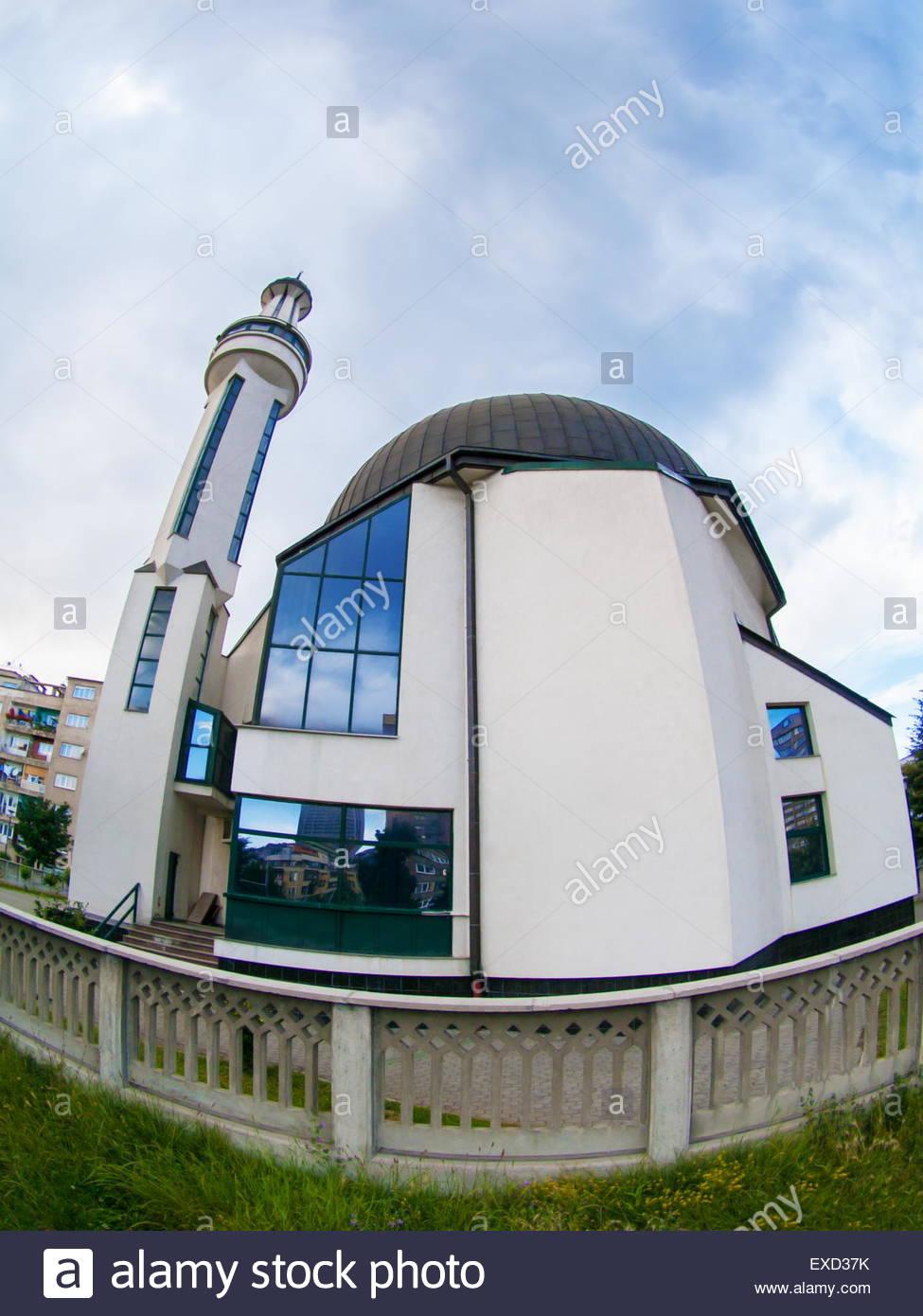 Incredibile architettura islamica moschea arte oggetto Immagini Stock