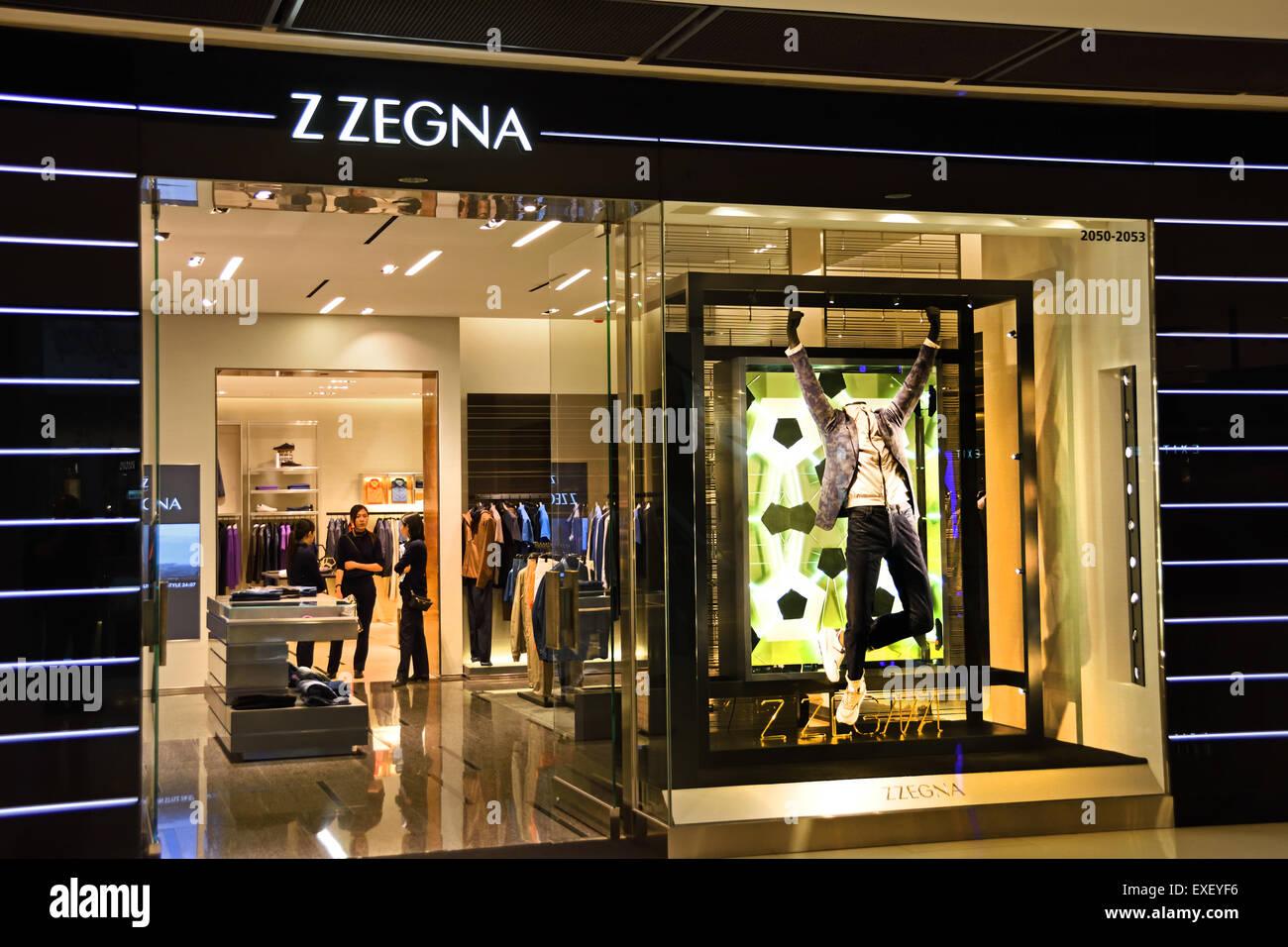 Ermenegildo Zegna Fashion Store dell Isola di Hong Kong cinese Cina ... 7e7f44f9ed0