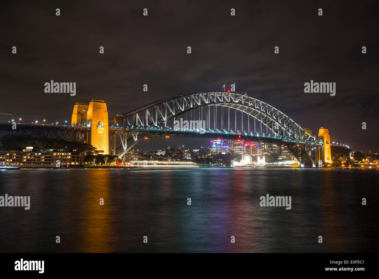 Il Ponte del Porto di Sydney, Australia Immagini Stock