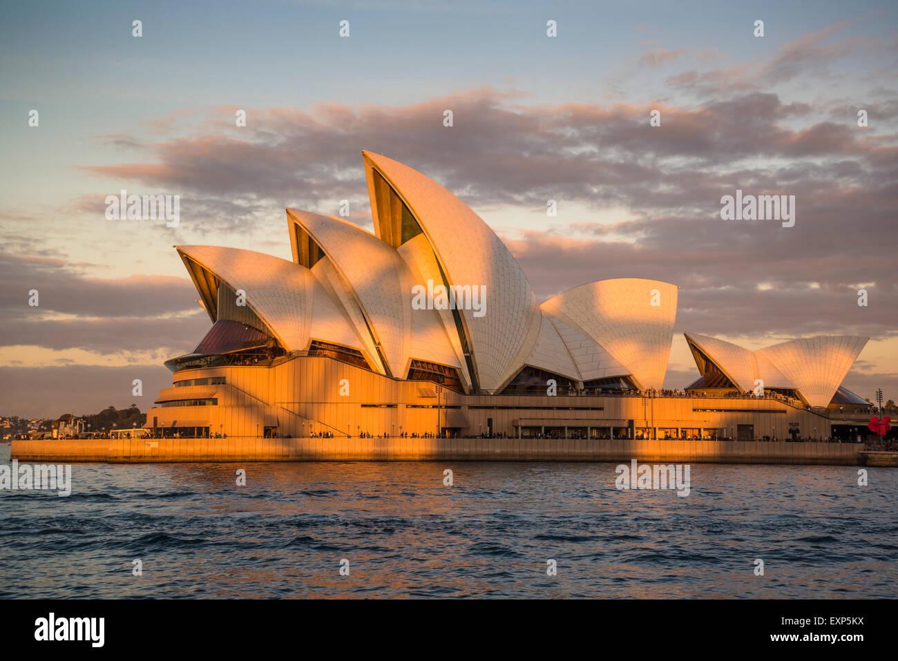 Sydney Opera House di Sydney, Australia Immagini Stock