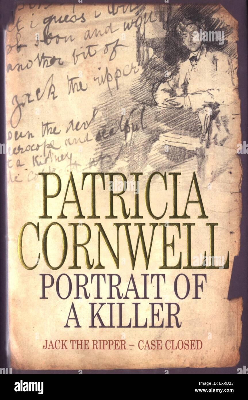 2000S UK Ritratto di un Killer: Jack lo Squartatore caso chiuso di Patricia Cornwell per la copertina del libro Immagini Stock