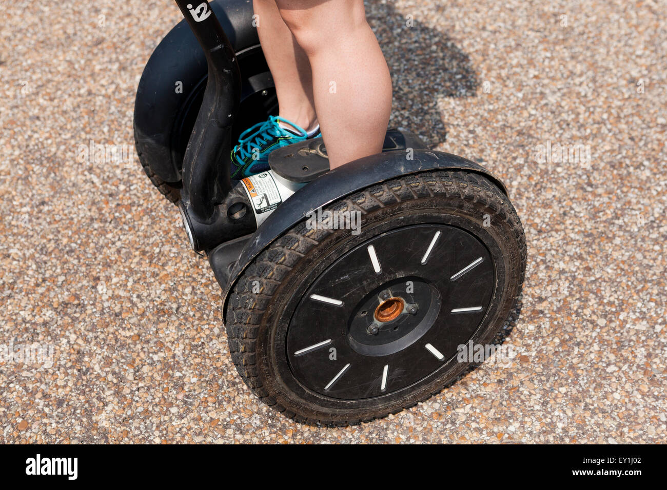 Ruote Segway closeup - USA Immagini Stock