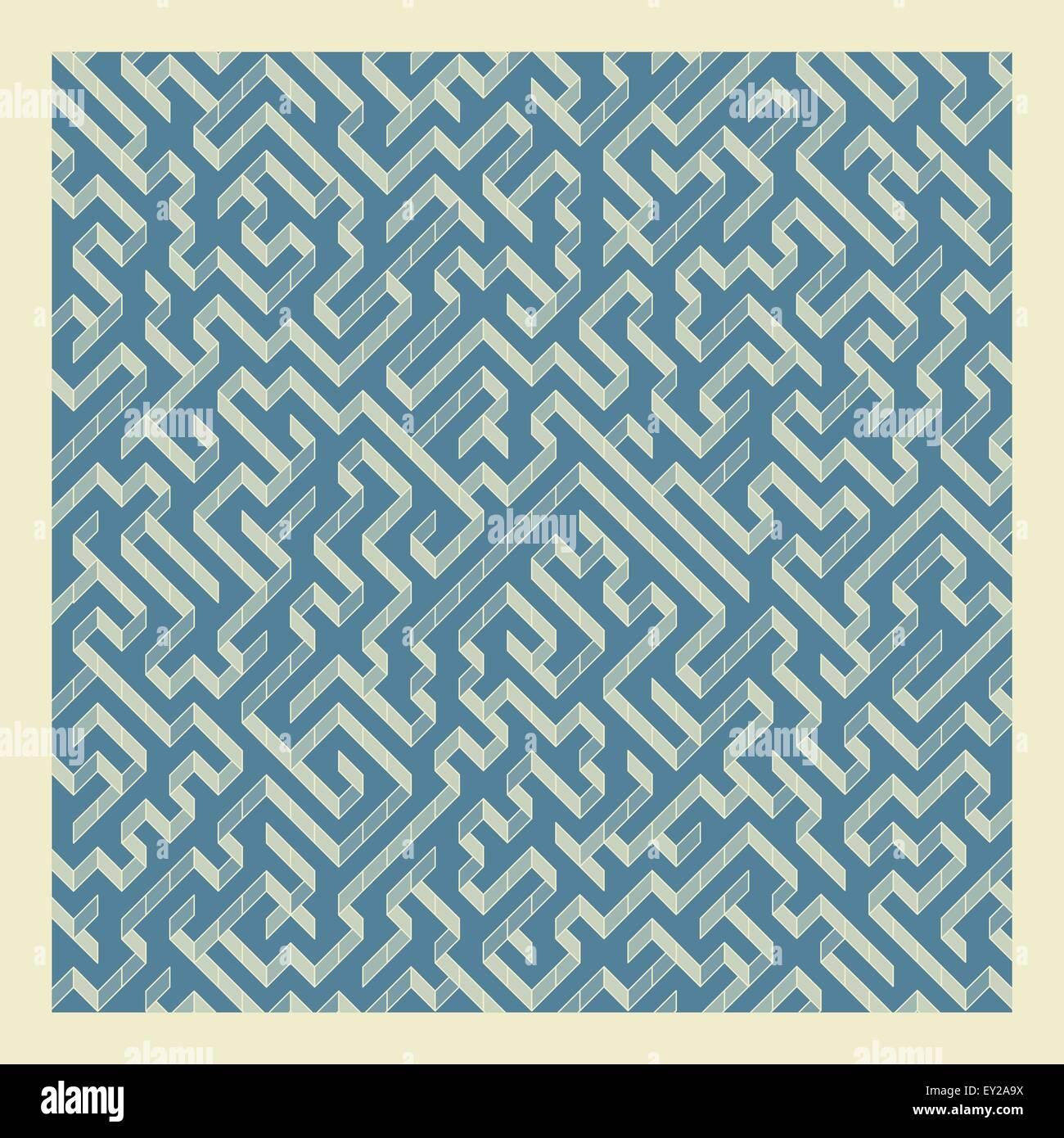 Labirinto. Illustrazione Vettoriale di labirinto. Immagini Stock