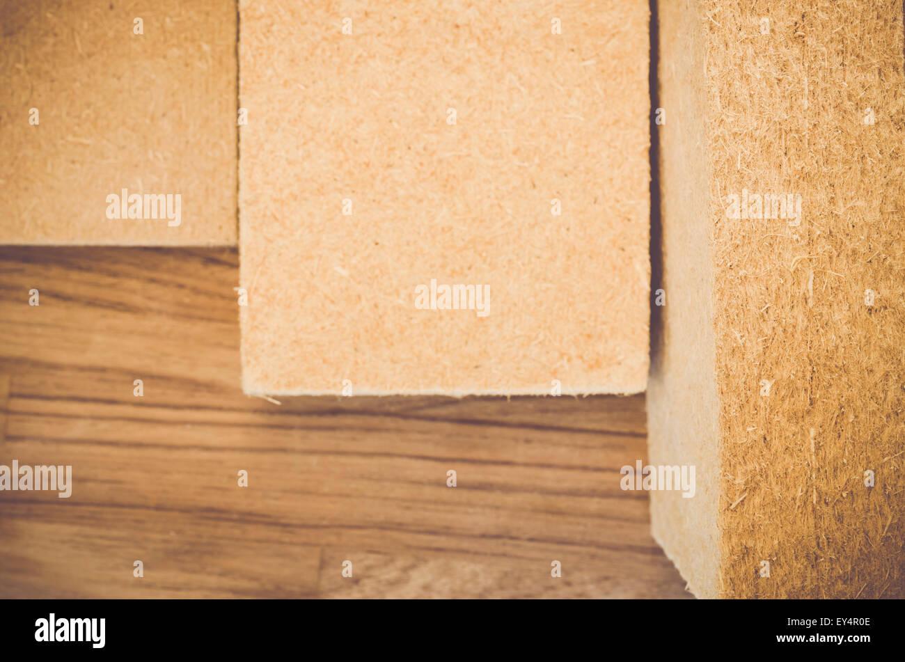Pannelli Fibra Di Legno compressa isolante termico delle fibre di canapa pannelli