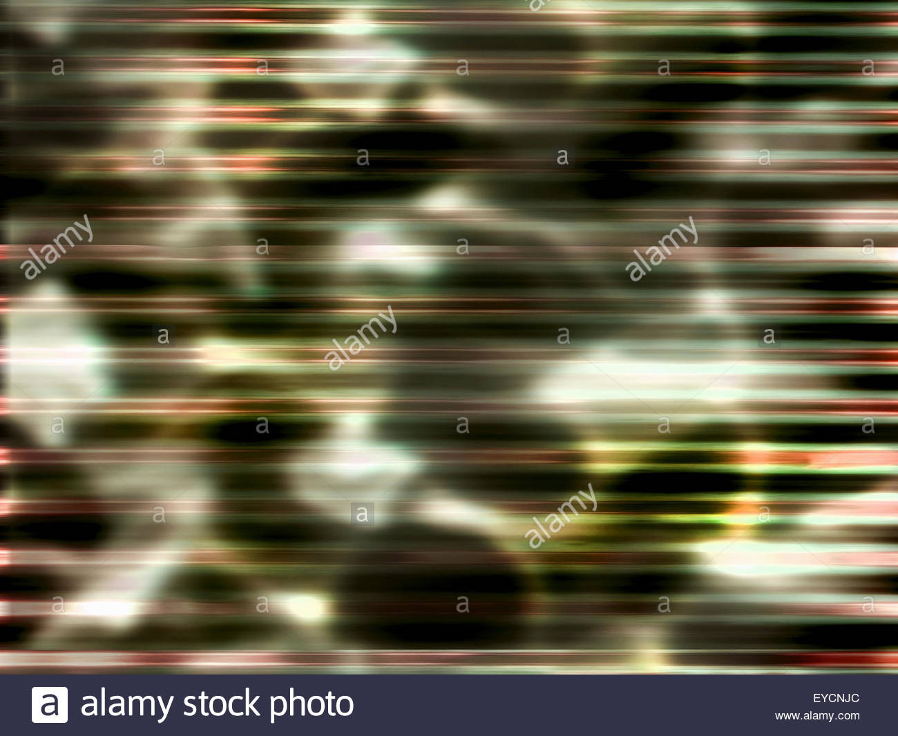 Movimento sfocato sfondo astratto motivo a strisce Immagini Stock