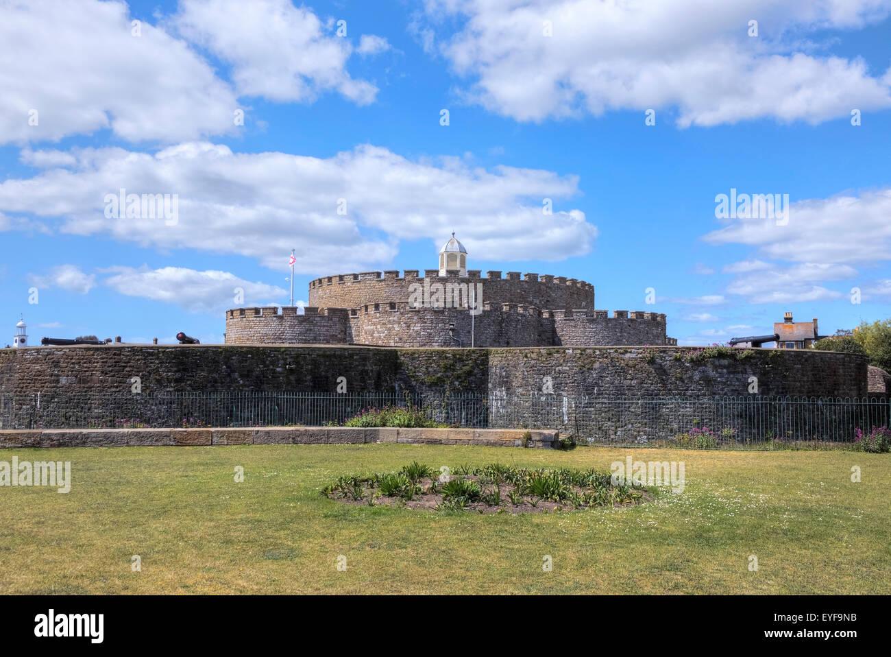 Il castello di trattativa, trattare, Kent, England, Regno Unito Immagini Stock