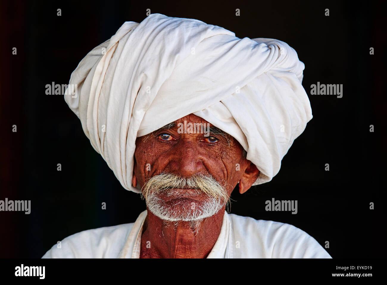 India, Gujarat, Kutch, villaggio intorno a Bhuj, Rabari gruppo etnico Immagini Stock