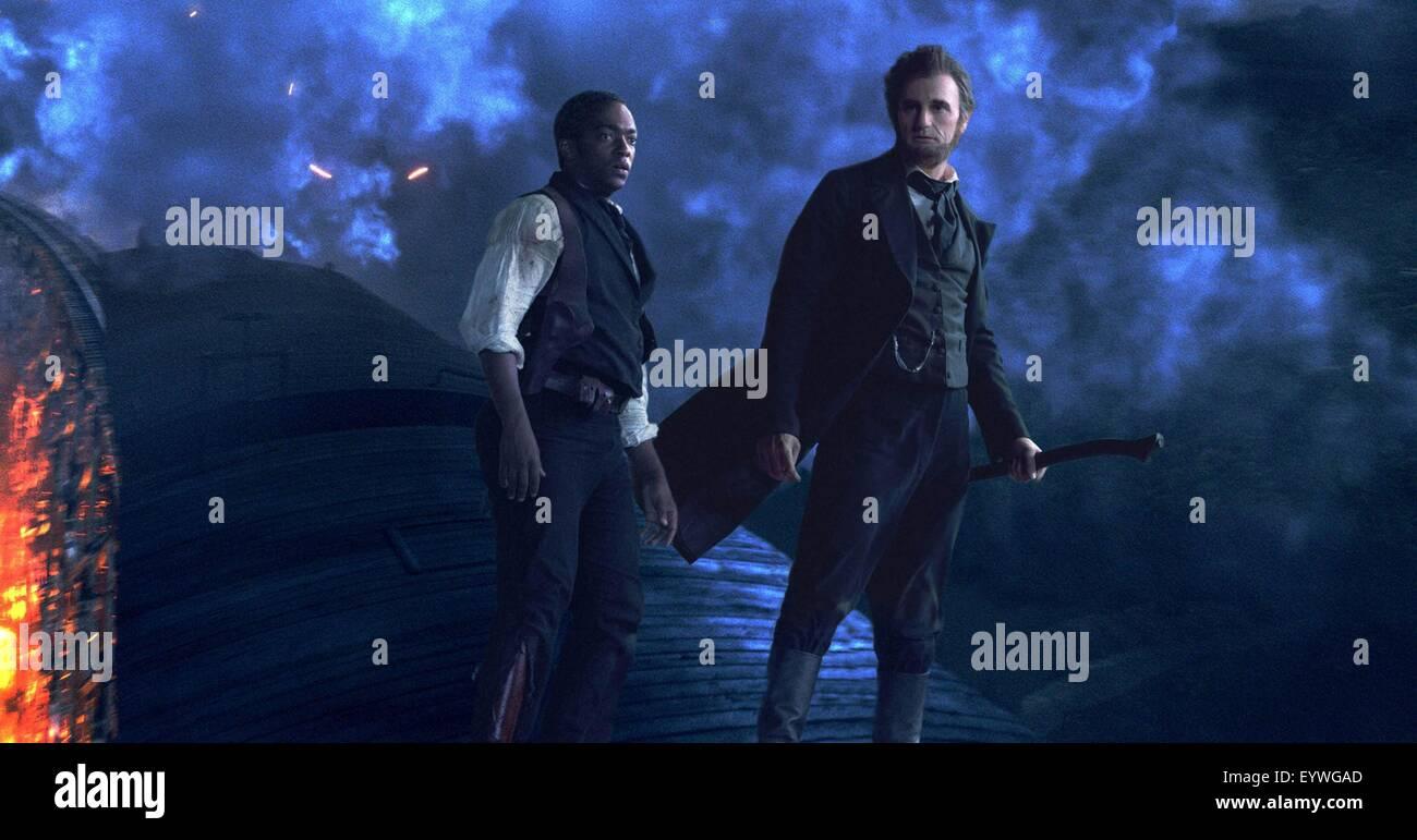 Abraham Lincoln: Vampire Hunter ; Anno : 2012 Stati Uniti ; Direttore : Timur Bekmambetov ; Anthony Mackie, Benjamin Immagini Stock