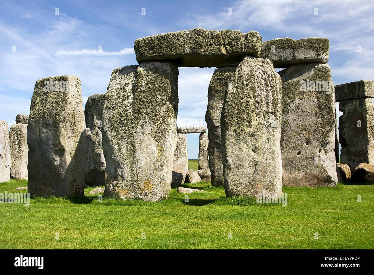 Stonehenge, Wiltshire, Regno Unito, Inghilterra, Stonehenge Immagini Stock