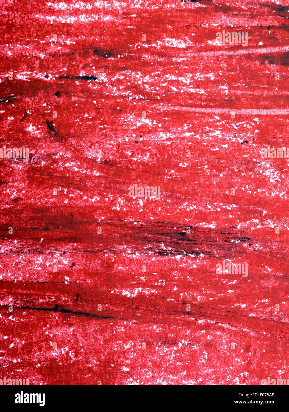 Sfondo Rosso Olio Pastelli Disegno Foto Immagine Stock 86212070