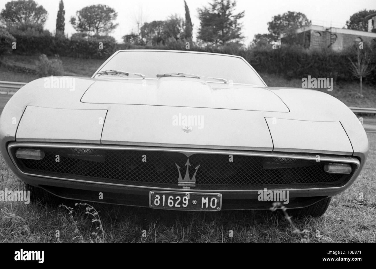Maserati Ghibli produzione Gran Turismo Immagini Stock